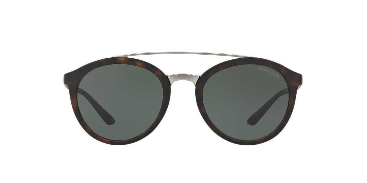 d255a7c1ec9fd Giorgio Armani AR8083 52 Green   Tortoise Sunglasses