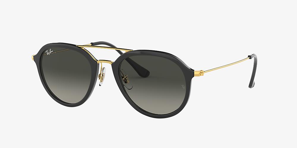 b885d8c17 Ray-Ban RB4253 53 53 Grey Gradient & Black Sunglasses | Sunglass Hut USA