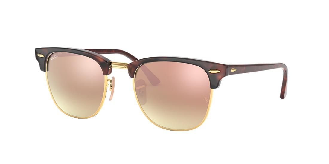 ff092dab6d0e9d Ray-Ban RB3016 51 Copper Gradient Flash   Tortoise Sunglasses ...