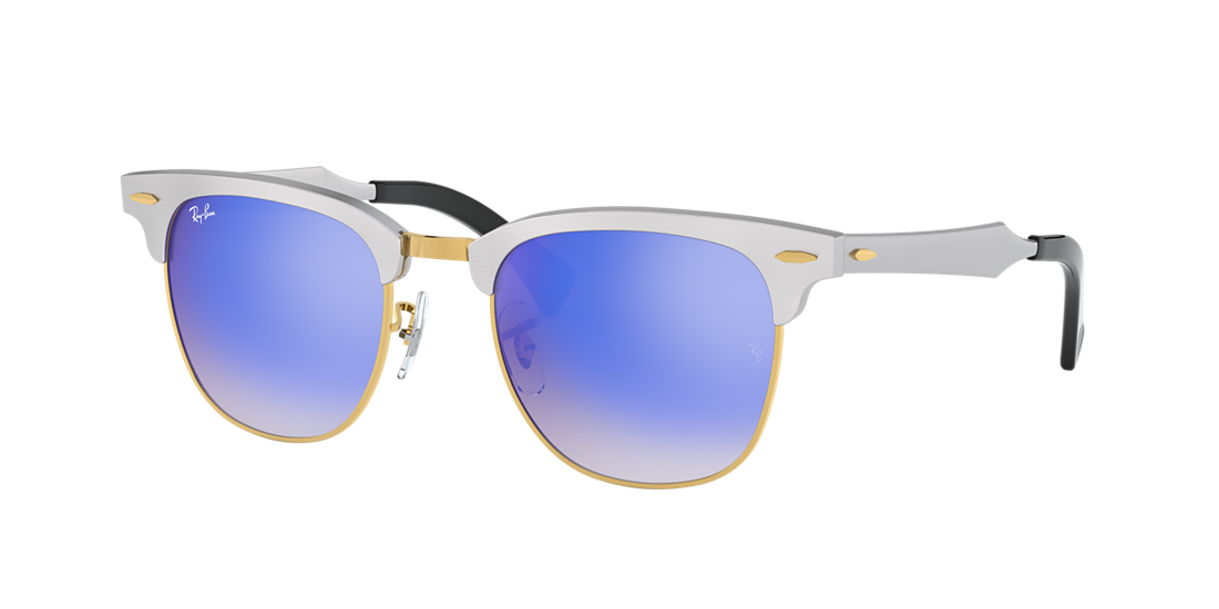 13f4633878 Ray-Ban RB3507 49 Blue Gradient Flash   Silver Sunglasses