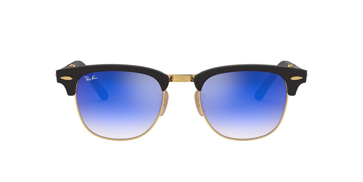 abad15c825 Ray-Ban RB2176 51 Blue Gradient Flash   Black Sunglasses