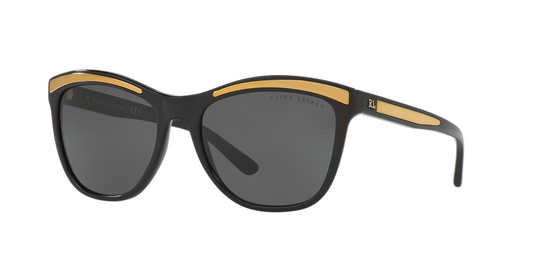 Ralph Lauren Black Square Sunglasses - rl8150