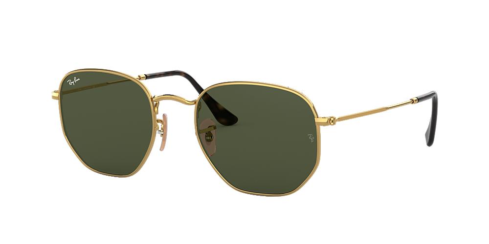 Óculos de Sol Ray-Ban RB3548NL Hexagonal   Sunglass Hut 099951b6a7