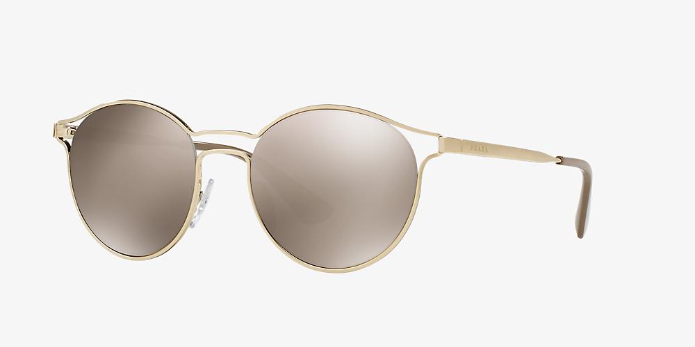 1257f7183 Prada PR 62SS 53 Gold & Gold Sunglasses | Sunglass Hut USA