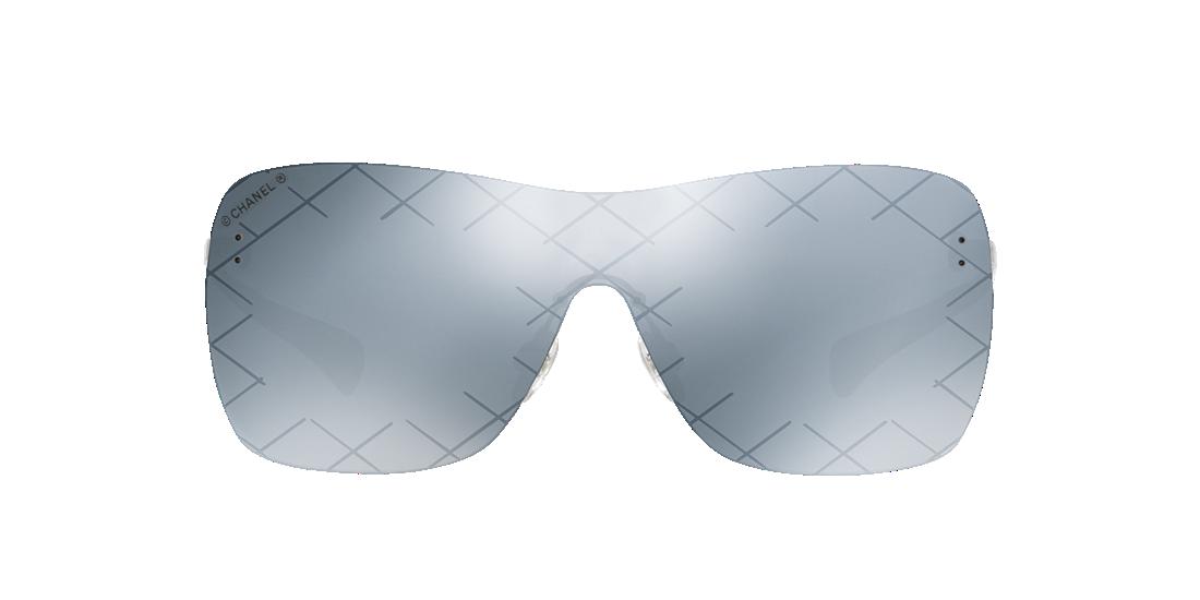 ba7a87a0e9 Chanel CH4215 01 Gray   Silver Sunglasses