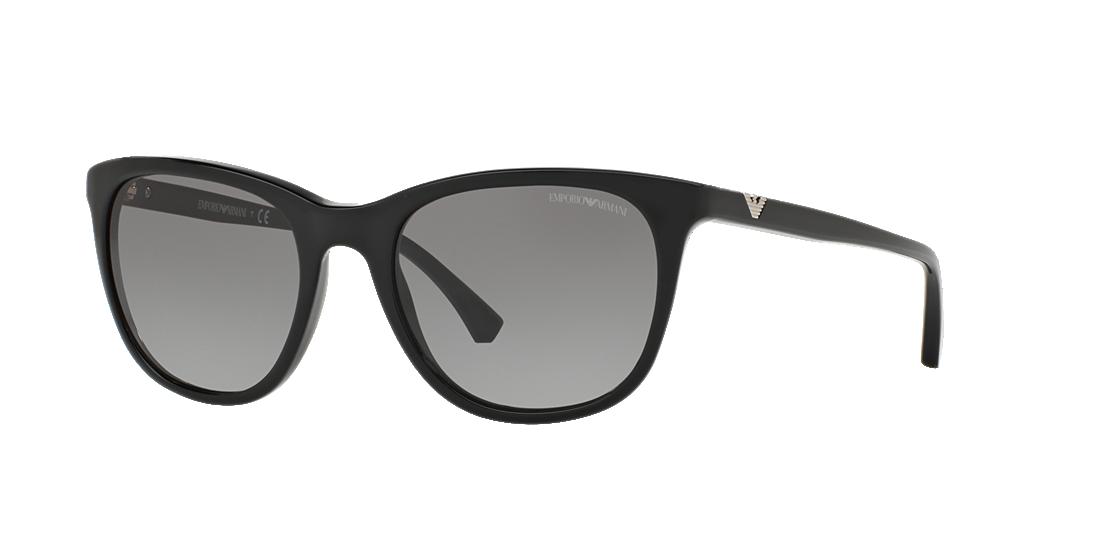 bb27c423d7a Emporio Armani EA4086 54 Grey-Black   Black Sunglasses