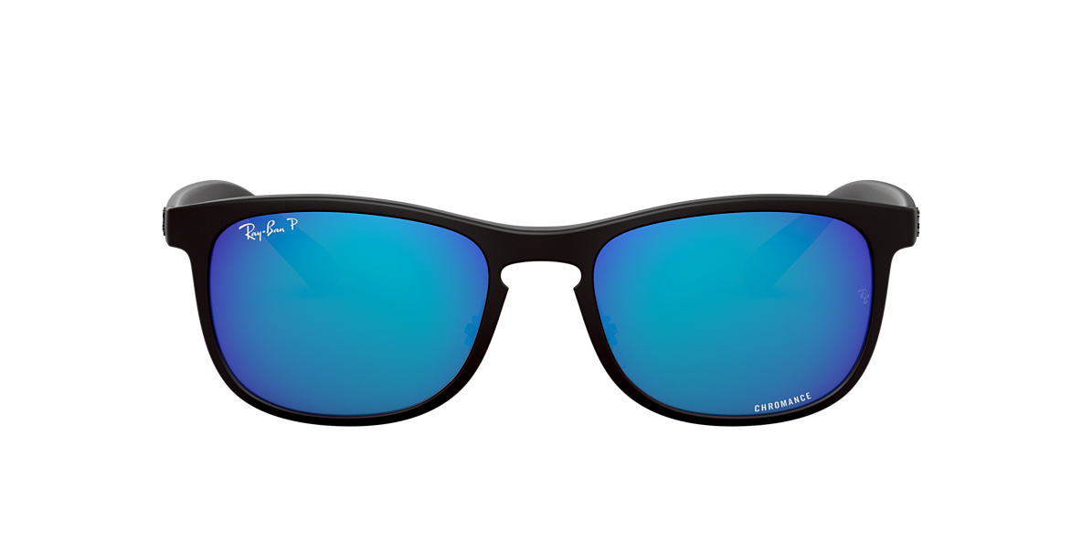 Black RB4263 RB4263 Chromance Blue Mirror Chromance Polarized  55