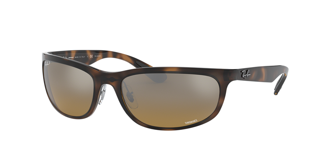 298a6a4cda Frame  tortoise. Lenses  brown mirror chromance polarized. PDP Product Image