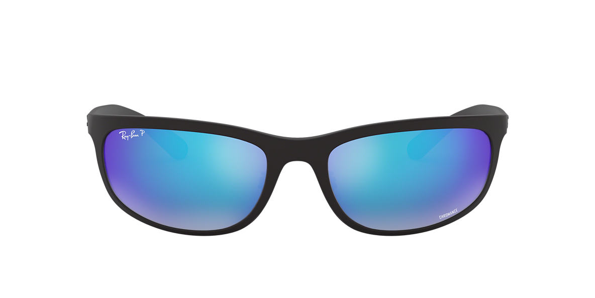 Black RB4265 Blue Mirror Chromance Polarized  62
