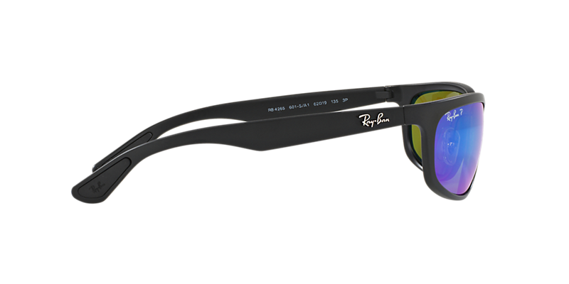 ef717d741d5 Ray-Ban RB4265 62 Blue Mirror Chromance Polarized   Black Polarized ...