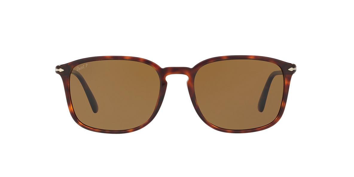 3701d19c56 Persol PO3158S 56 Grey-Black   Tortoise Polarised Sunglasses ...