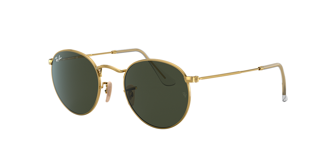 6f3c187620 Ray-Ban RB3447 53 Green Classic G-15   Gold Sunglasses