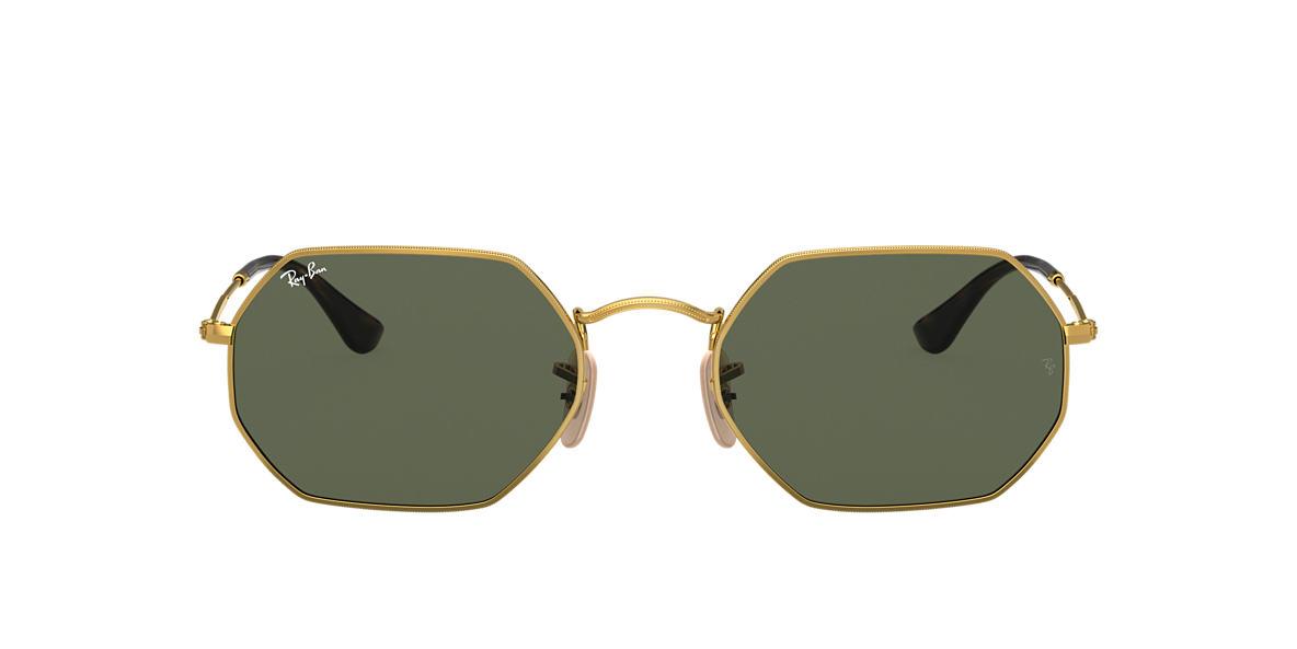 Gold RB3556N OCTAGONAL CLASSIC Green  53