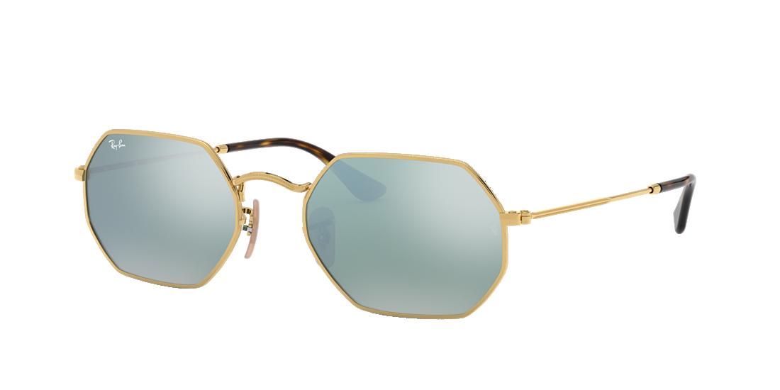 514b01ee1cf0e Ray-Ban RB3556N 53 Silver Flash   Gold Sunglasses