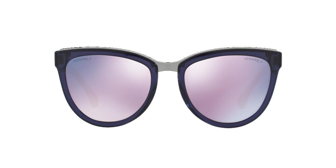 03c409a6d63d Chanel CH5361Q 55 Purple   Purple Sunglasses