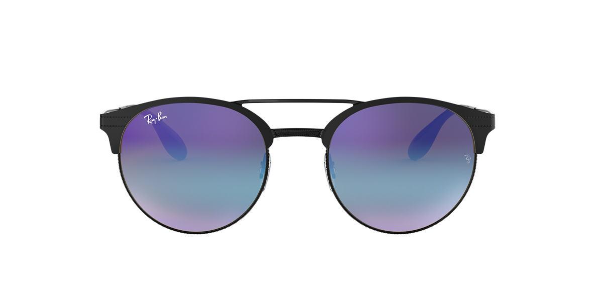 Black RB3545 Blue/Violet Gradient Mirror  51