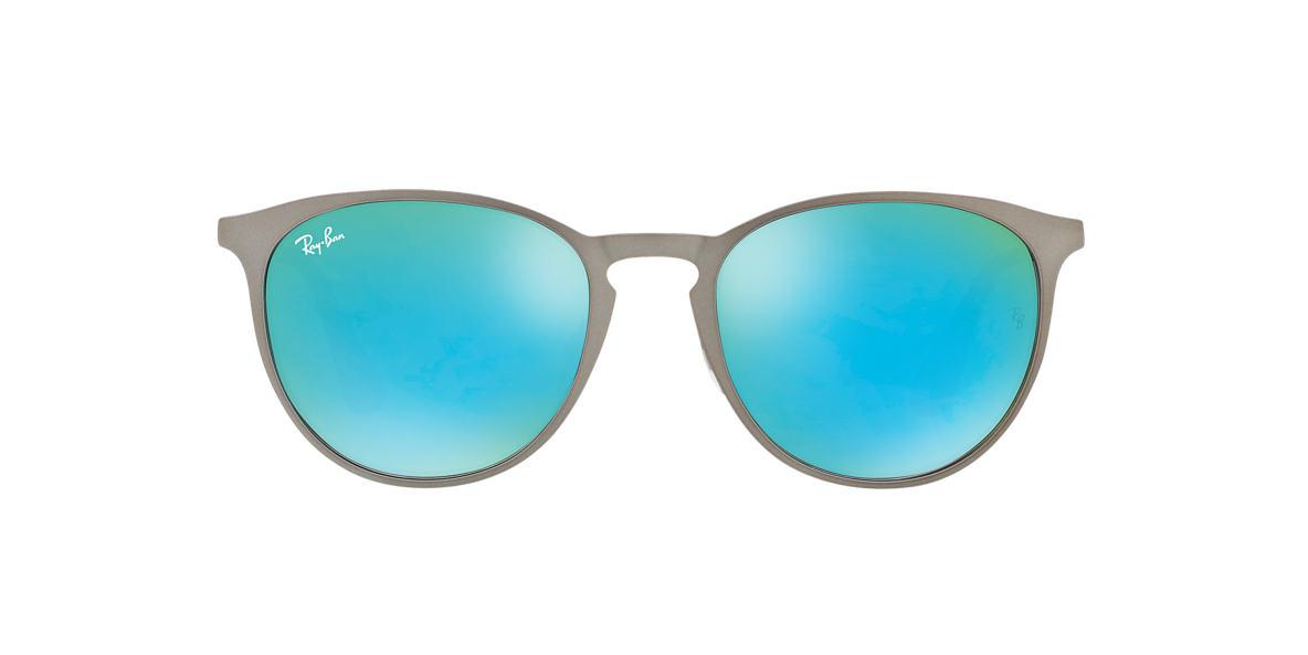 de885c7f290 Ray-Ban RB3539 54 Green Mirror   Gunmetal Sunglasses