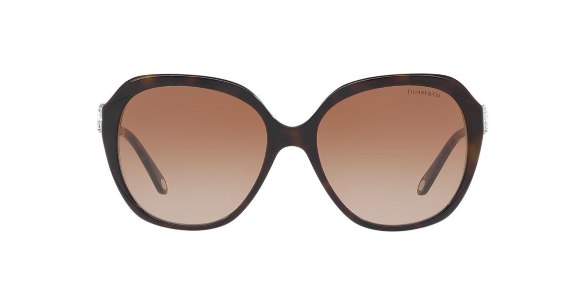 44149bf2fd2 Tiffany TF4132HB 57 Brown   Tortoise Sunglasses