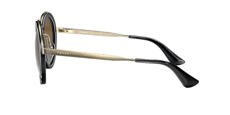 cde2f9df3765f Prada PR 50TS 54 Brown   Black Polarized Sunglasses