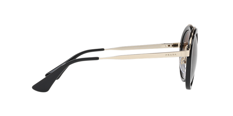 b68c648e0ab51 Prada PR50TS 54 Brown   Black Polarized Sunglasses