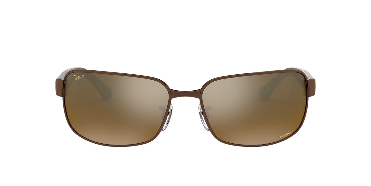 Brown RB3566CH RB3566 CHROMANCE Bronze Mirror Chromance Polarized  65