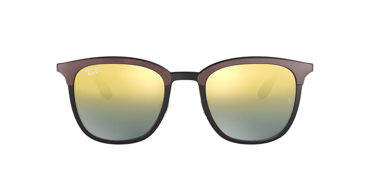 87eebf7e327 Ray-Ban RB4278 51 Green Gradient Mirror   Black Sunglasses ...