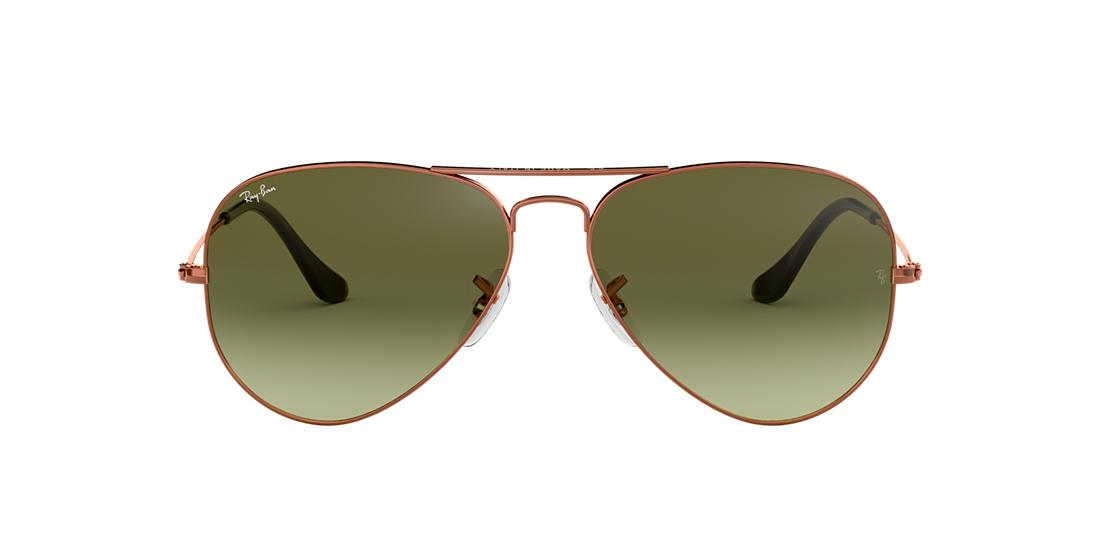 90c5ebe373a Ray-Ban RB3025 58 Green Gradient   Bronze-Copper Sunglasses ...