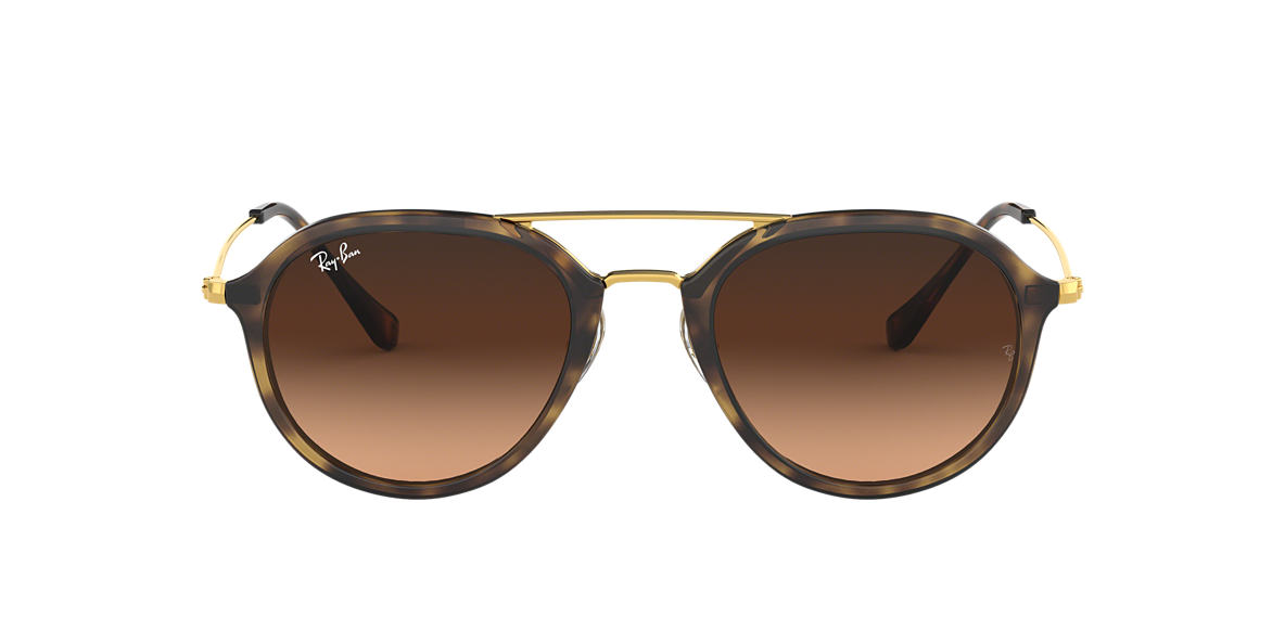 936909ee8eee3 Ray-Ban RB4253 53 Pink Brown Gradient   Tortoise Sunglasses ...