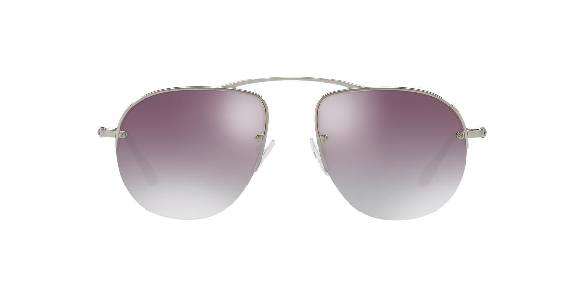 c26ea40a56 Prada PR58OS 55 Grey-Black   Gunmetal Sunglasses