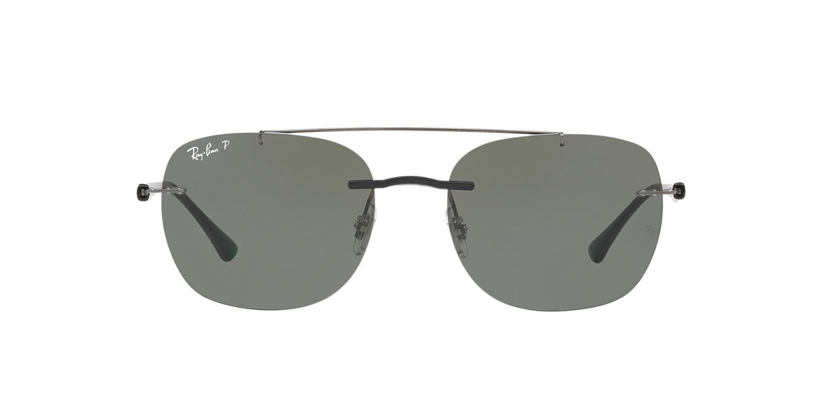 880186c7fd RAY-BAN Black RB4280 Polarized Green Classic G-15 polarised lenses 55mm