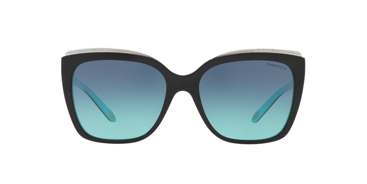 4ab4d68d3486 Tiffany TF4135B 56 Blue   Black Sunglasses