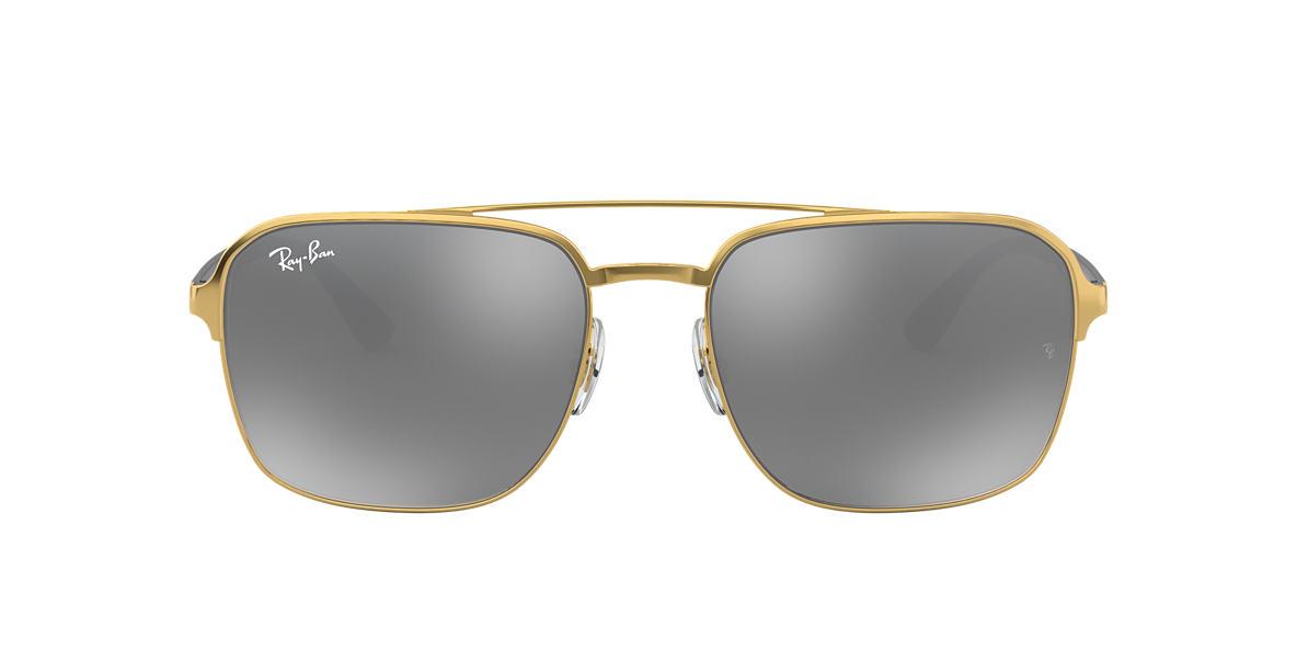 Gold RB3570 Grey-Black  58