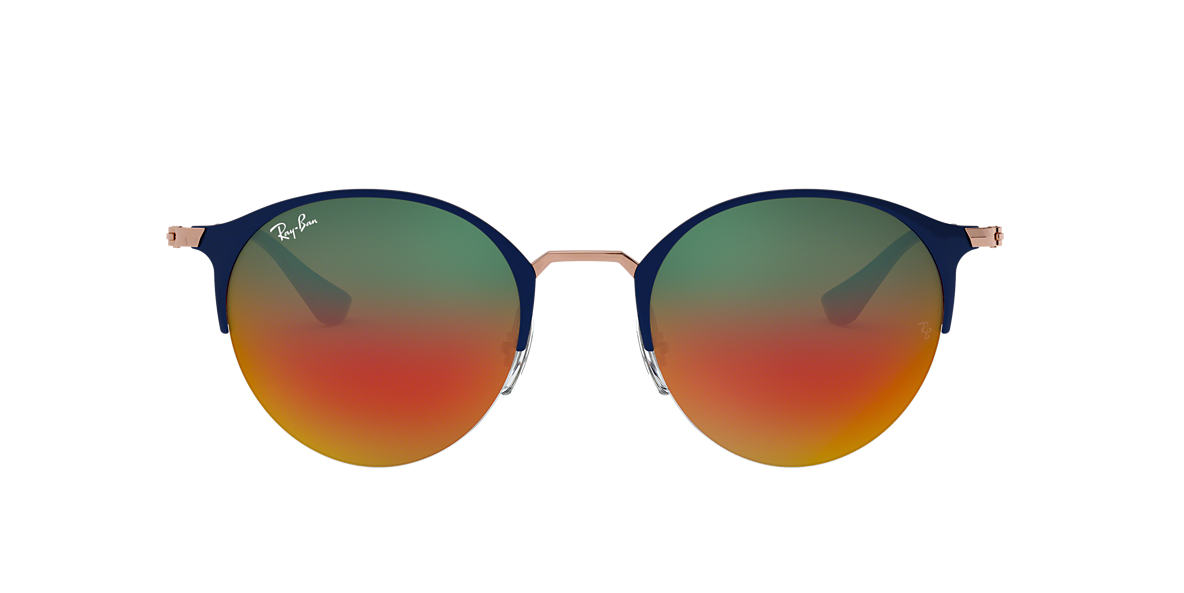 2586a9894f Ray-Ban RB3578 50 Orange Gradient Mirror   Blue Sunglasses ...