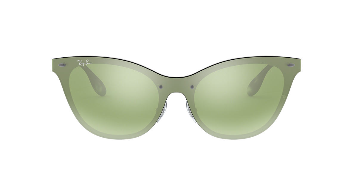64280d7d87 Ray-Ban RB3580N 01 Dark Green Silver Mirror   Silver Sunglasses ...