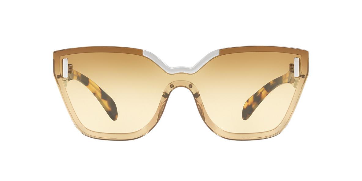 37257e2ca77 Prada PR16TS 01 Brown   Brown Sunglasses