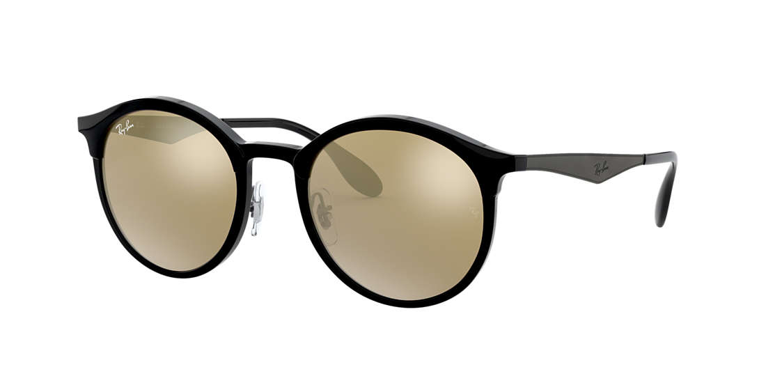 bee0043496 Ray-Ban RB4277 51 EMMA 51 Gold Mirror   Black Sunglasses