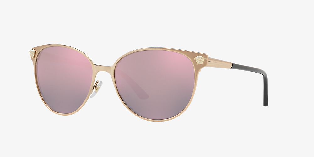 3e1ed46fd4c4 Versace VE2168 57 Pink & Pink Sunglasses | Sunglass Hut USA