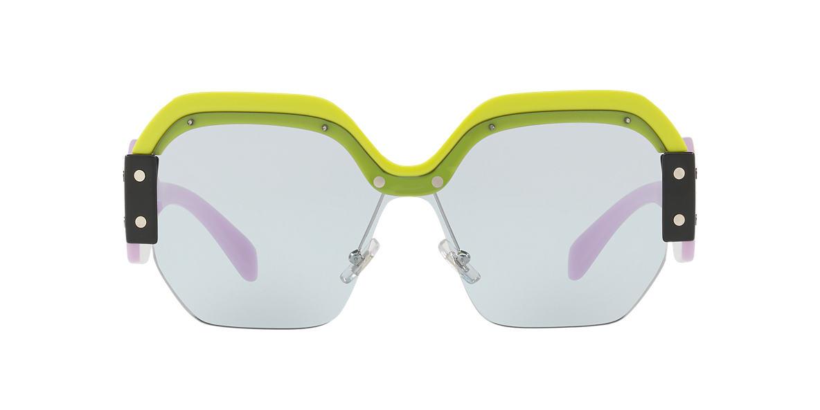 3f9110fa5164 Miu Miu MU09SS 01 Blue   Yellow Sunglasses