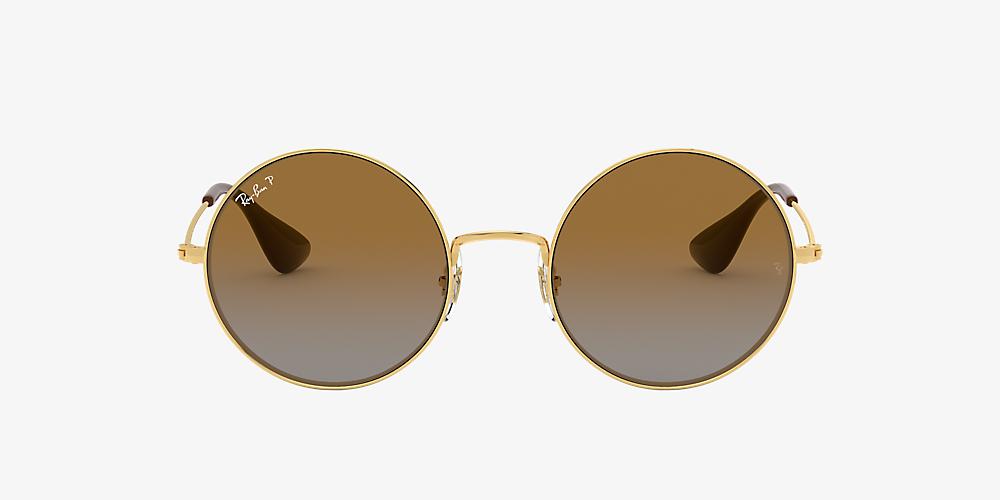 2e57adaae Ray-Ban RB3592 JA-JO 55 Brown & Gold Polarised Sunglasses | Sunglass ...