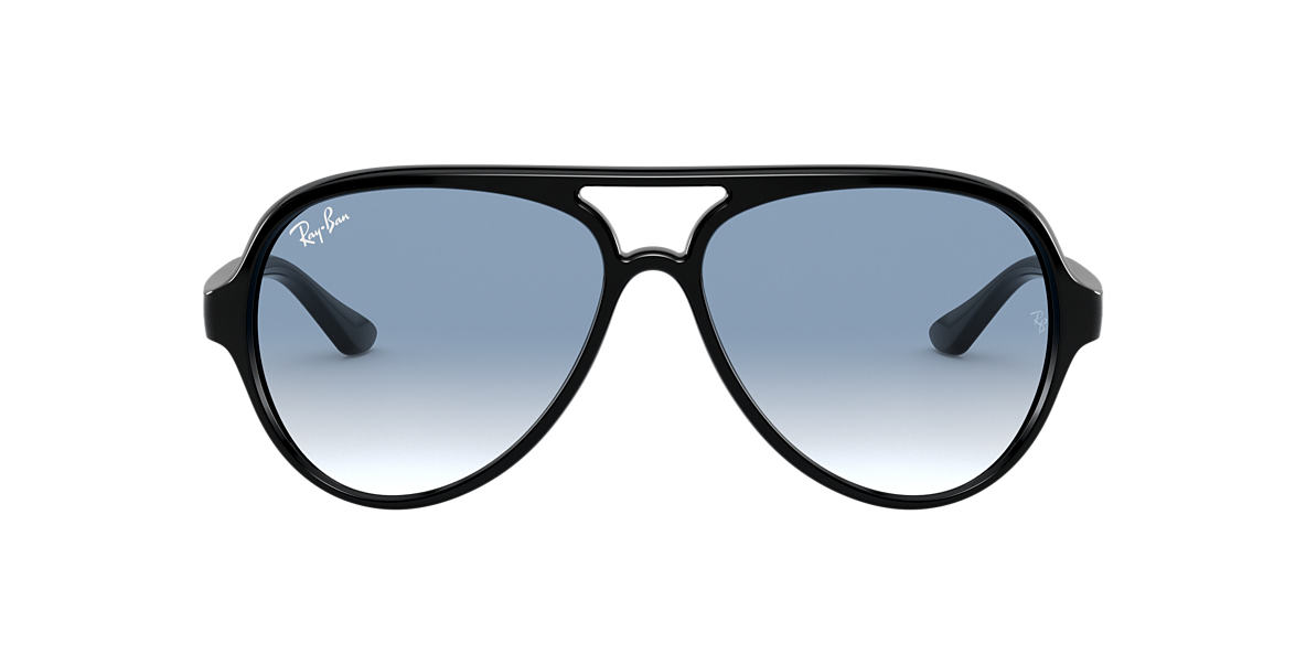 c0dc65d219 Ray-Ban RB4125 59 Light Blue Gradient   Black Sunglasses
