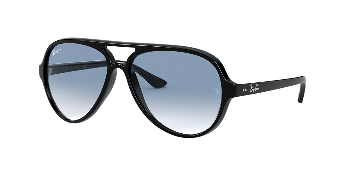 f29e874c41 Ray-Ban RB4125 59 Light Blue Gradient   Black Sunglasses