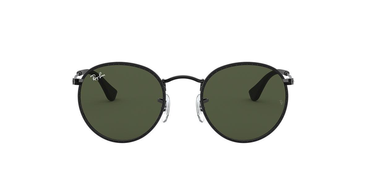 fd6ec8022c Ray-Ban RB3475Q 50 Green Classic G-15   Black Sunglasses
