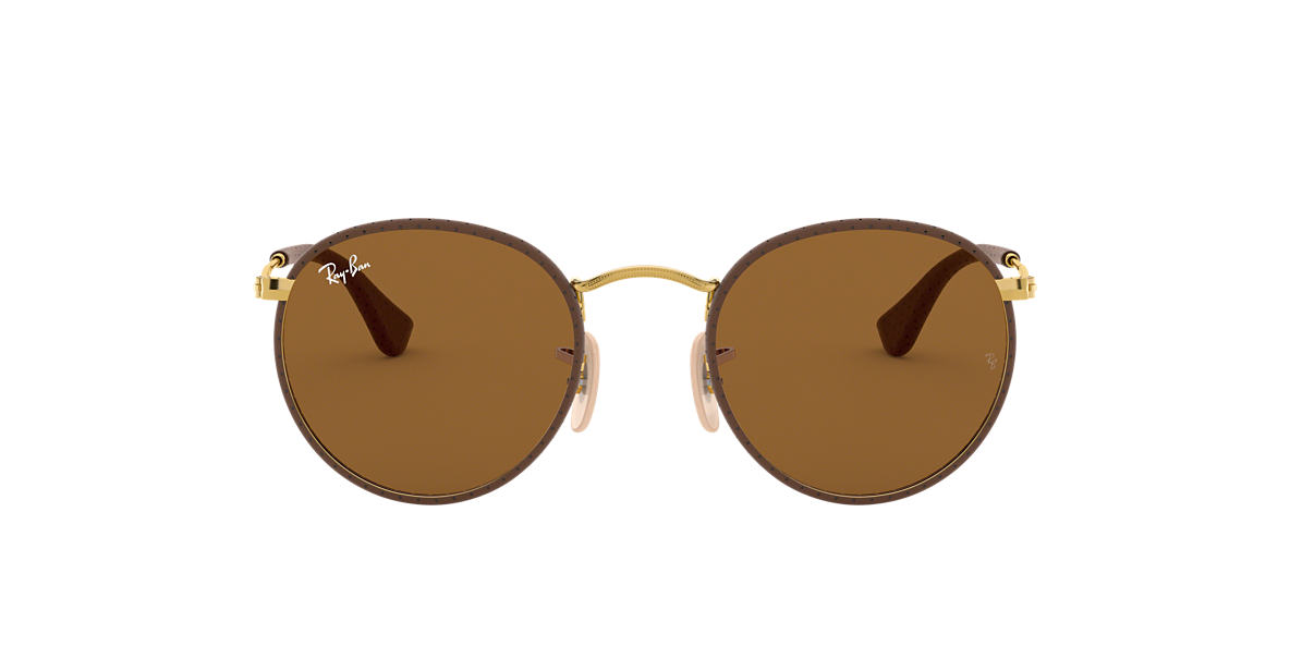 31abd28a45 Ray-Ban RB3475Q 50 Brown Classic B-15   Brown Sunglasses