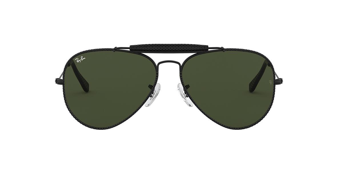 d9590973f Ray-Ban RB3422Q OUTDOORSMAN CRAFT 58 Green & Black Sunglasses ...
