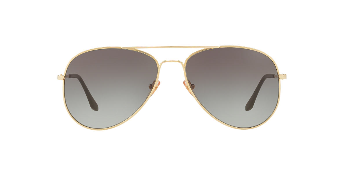 Sunglass Hut Collection Hu1001 59 59 Grey Gold Sunglasses