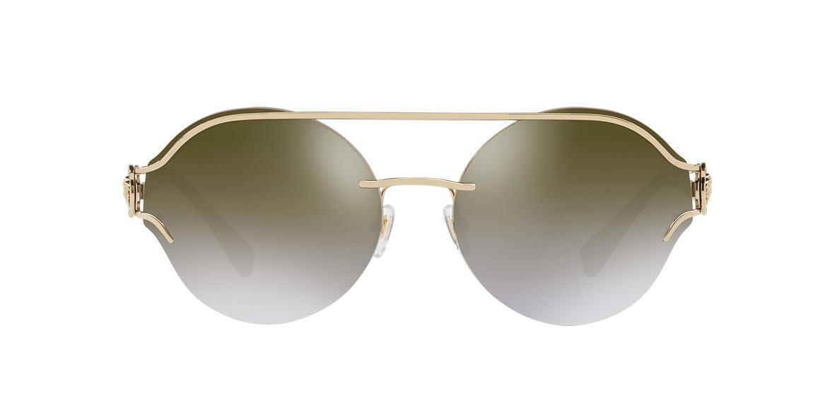f7f8b742f2 Versace VE2184 61 Gold   Gold Sunglasses