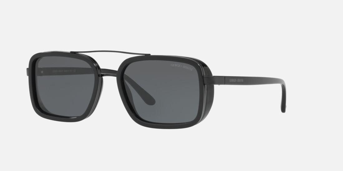 Giorgio Armani AR6063 53 53 Grau und Schwarz Sonnenbrillen ...
