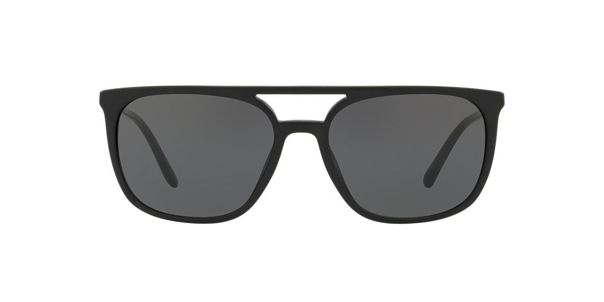 cd54f9ac83 Burberry BE4257 57 Grey-Black   Black Sunglasses
