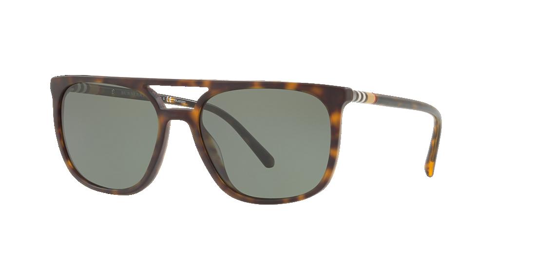 5720e3e62f Burberry BE4257 57 Green   Tortoise Polarized Sunglasses