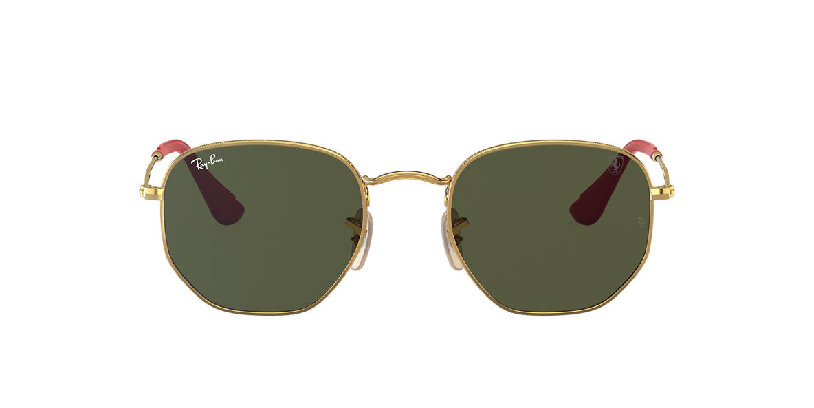 852f6d795e RAY-BAN Oro RB3548NM Green Classic G-15 lentes 51mm